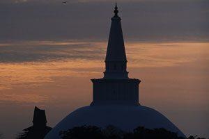 Pagodas in Anuradhapura Sri Lanka